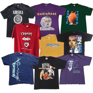 Rock Tshirt Mix