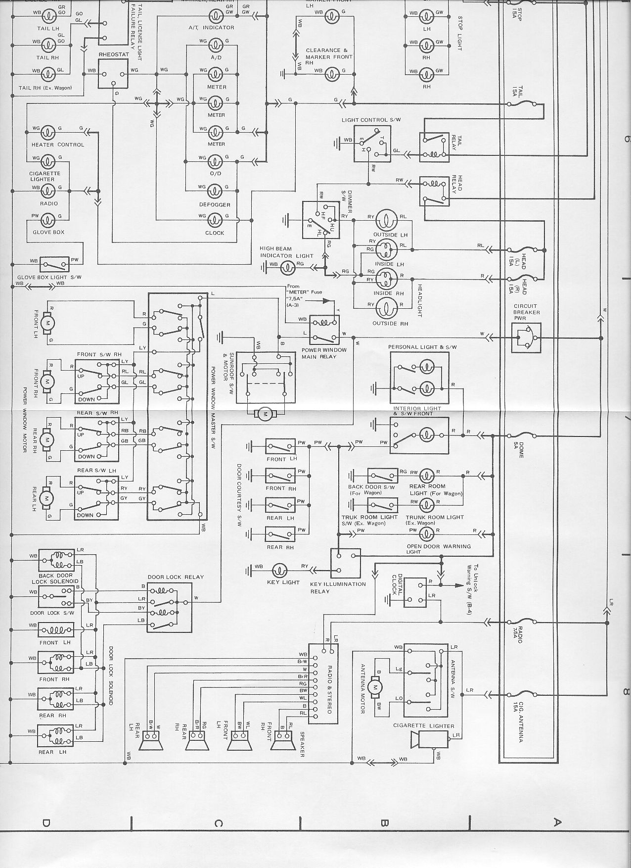 Celica Wiring Diagram