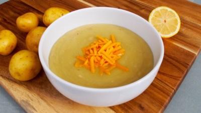 Creamy Potato Artichoke Soup