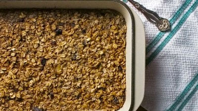 Comforting Coconut Baked Oatmeal