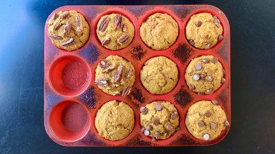 Pumpkin Apples Muffins