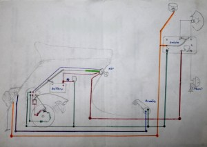 Vespa gs wiring diagram