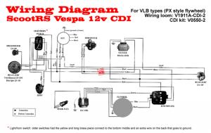 Modern Vespa : VBB Electrical help