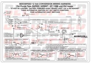 Modern Vespa : Getting in a knot  12v Wiring Classic Vespa