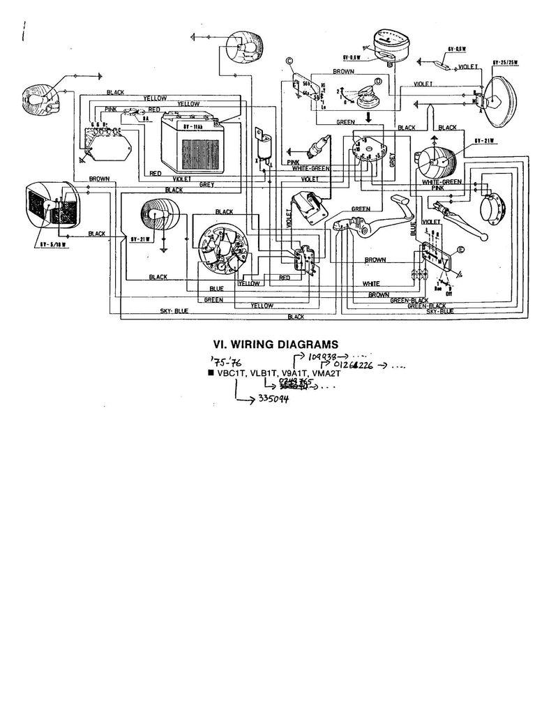 Vespa Vbb Wiring Diagram Gt200 Ignition Wire Gl Super Free Download Xwiaw 12v Conversion