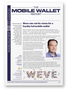 The Mobile Wallet Report, 30 August 2013
