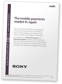 Covershot: The Mobile Payments Market in Japan