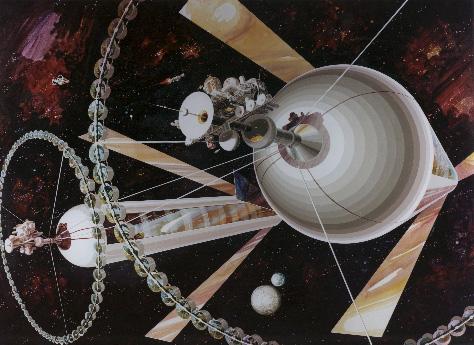 A design for 1M + orbital colony