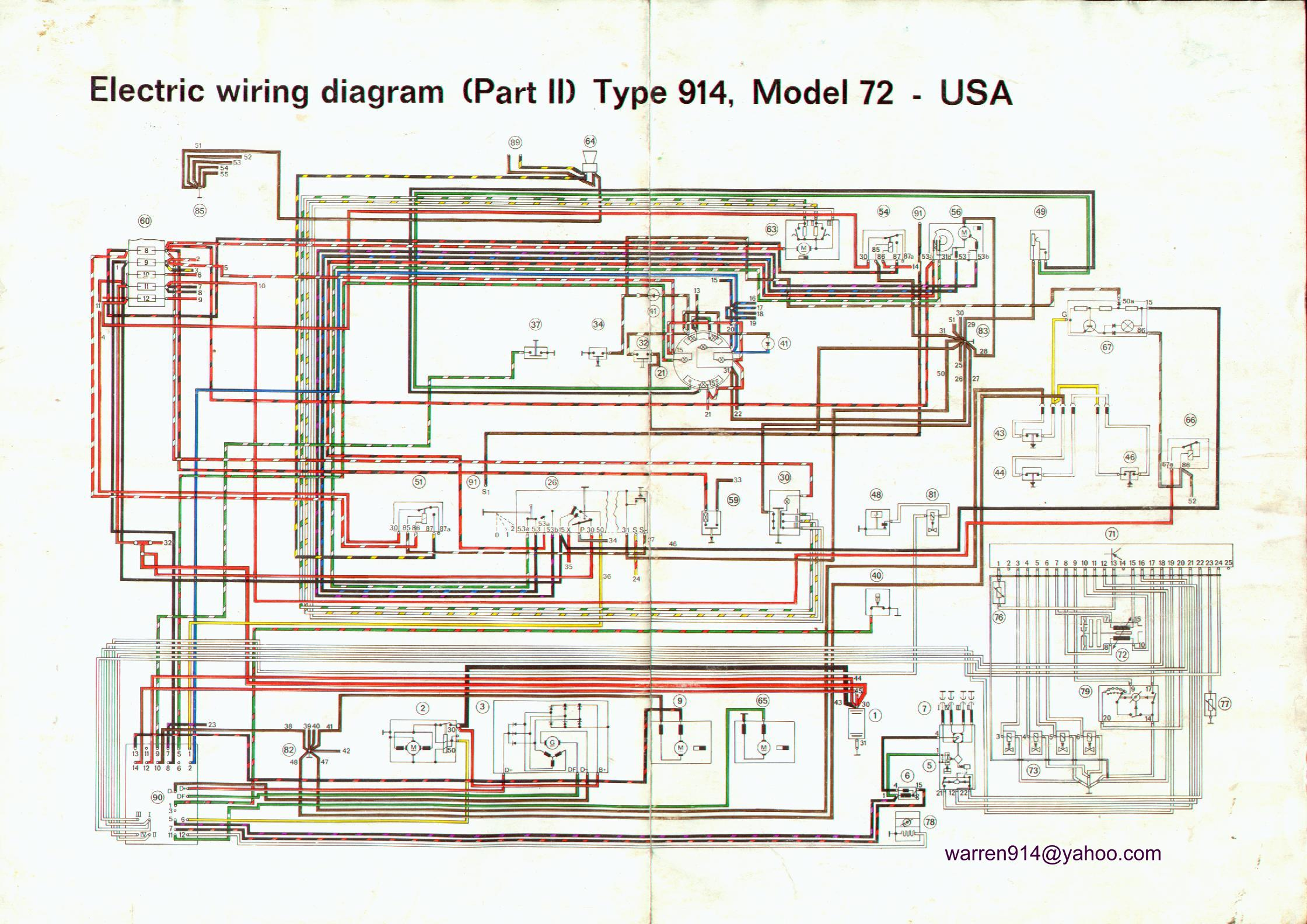 Brilliant Porsche 914 Electrical Diagrams Wiring Diagram Database Wiring Cloud Hisonuggs Outletorg