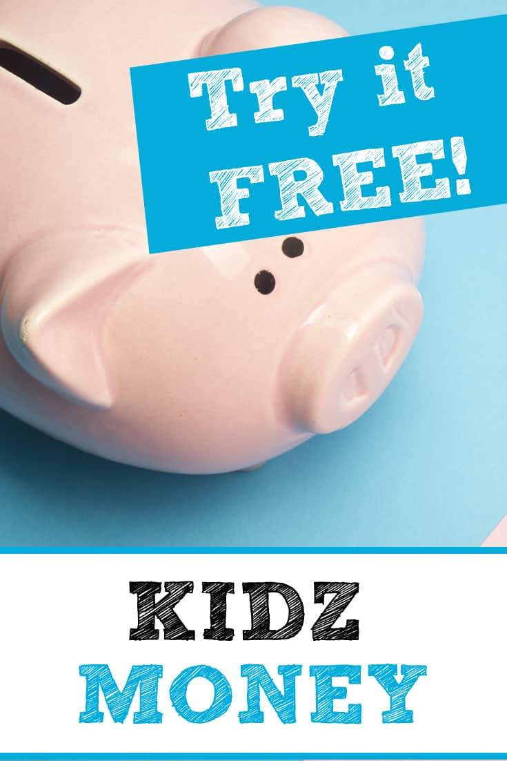 Click here for your FREE 14-day trial of KIDZ Money