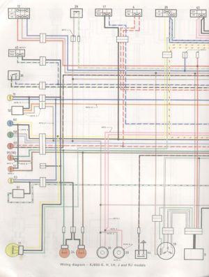 XJ Electrical diagrams