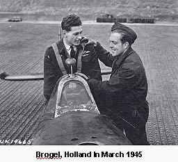 Brogel, Holland in March 1945