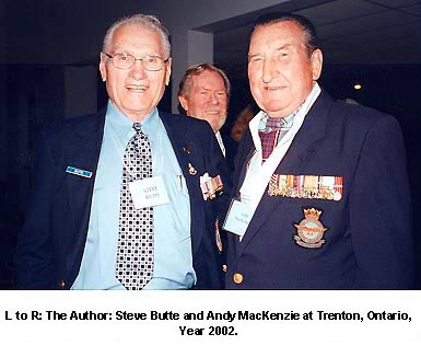 Steve Butte and Andy Mackenzie, Trenton, Ontario, 2002