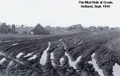 Mudhole at Grave, Holland, Sept. 1944