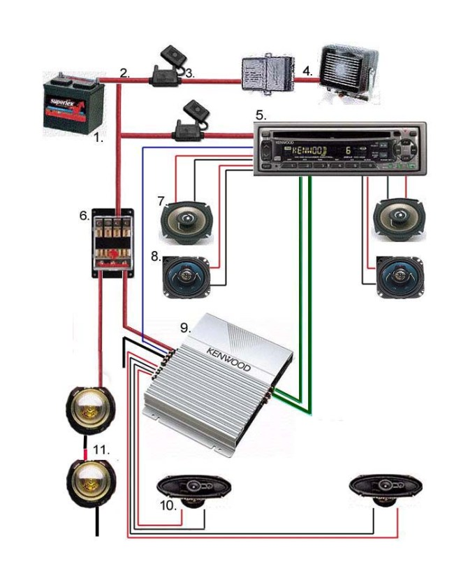 car audio amp wiring diagram  wiring diagrams site lesson
