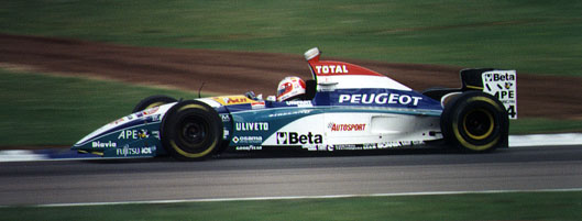 Steves Motor Sport Picture Gallery F1 1995