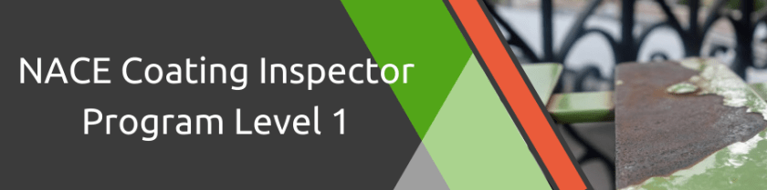 NACE Coating Inspector Program Level 1 Also available online