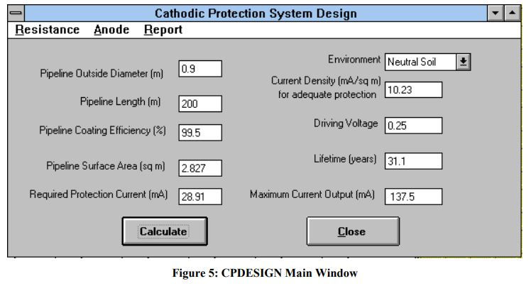 CP Design Main Window