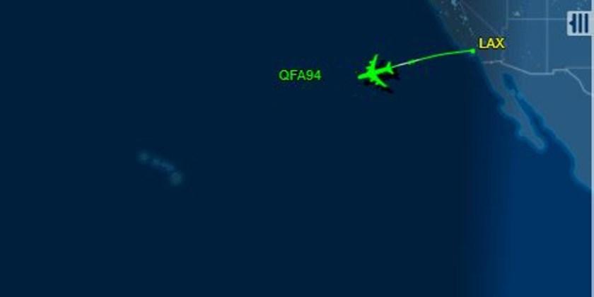 Generic Flight Plan. Not actual Flight path. Thanks to Flight tracker