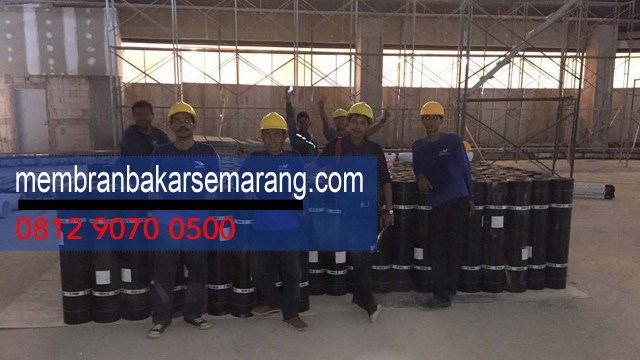 HARGA WATERPROOFING MEMBRAN BAKAR PER ROLL di Kota  Kranggan ,Semarang ,Jawa Tengah - Whats App Kami : 08 12 90 70 05 00 -