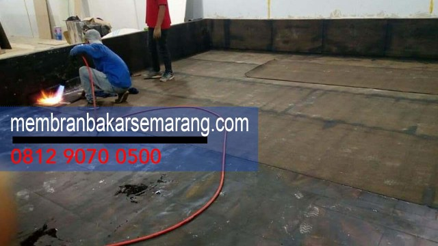 jasa waterproofing membran aspal bakar di Wilayah  Tengaran,Semarang,Jawa Tengah - Telp Kami : 0812 9070 0500