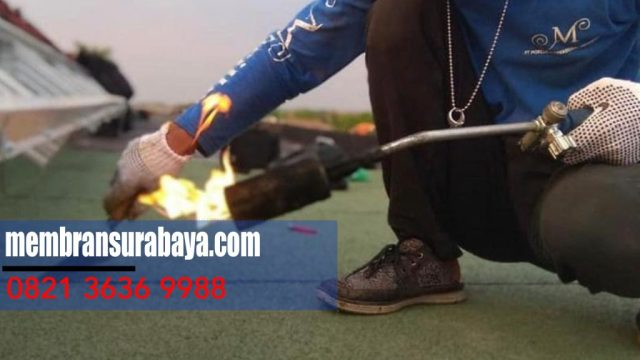 Kami  membran waterproofing anti bocor di Kota  Jombang - Whatsapp : 082 136 369 988