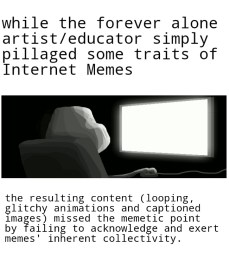"""A single-panel rage comic with """"ForeverAloneComputer2"""" rage face as made on Rage Comic Maker for Android by Tamas Marki."""