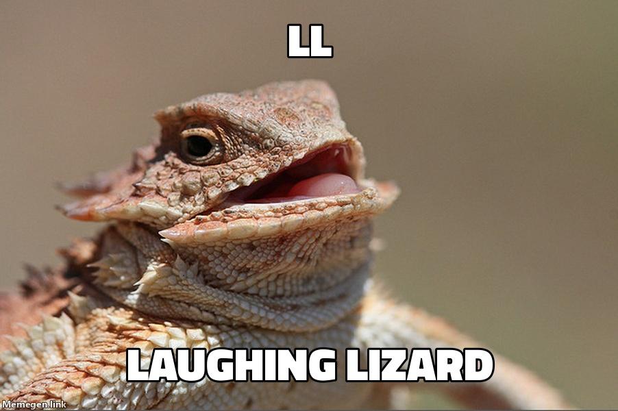 Laughing Lizard