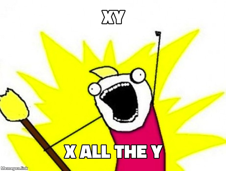 X all the Y
