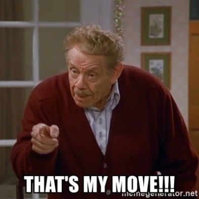Image result for frank costanza that's my move