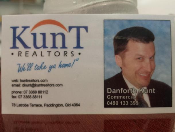 The Ultimate Realtors Business Card Meme Guy