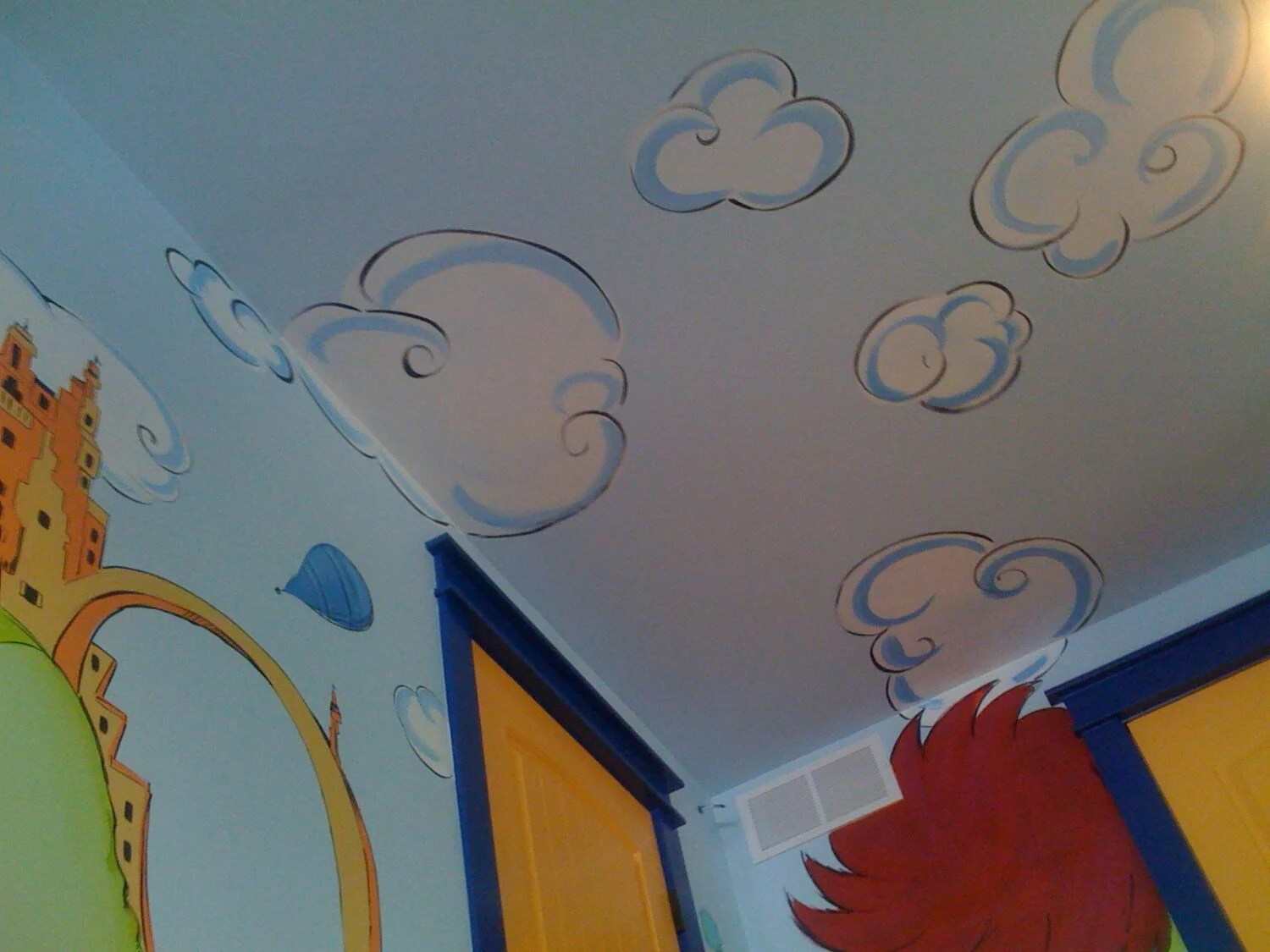 Painting Kids Spaces Dr Seuss Oh The Places Youll Go