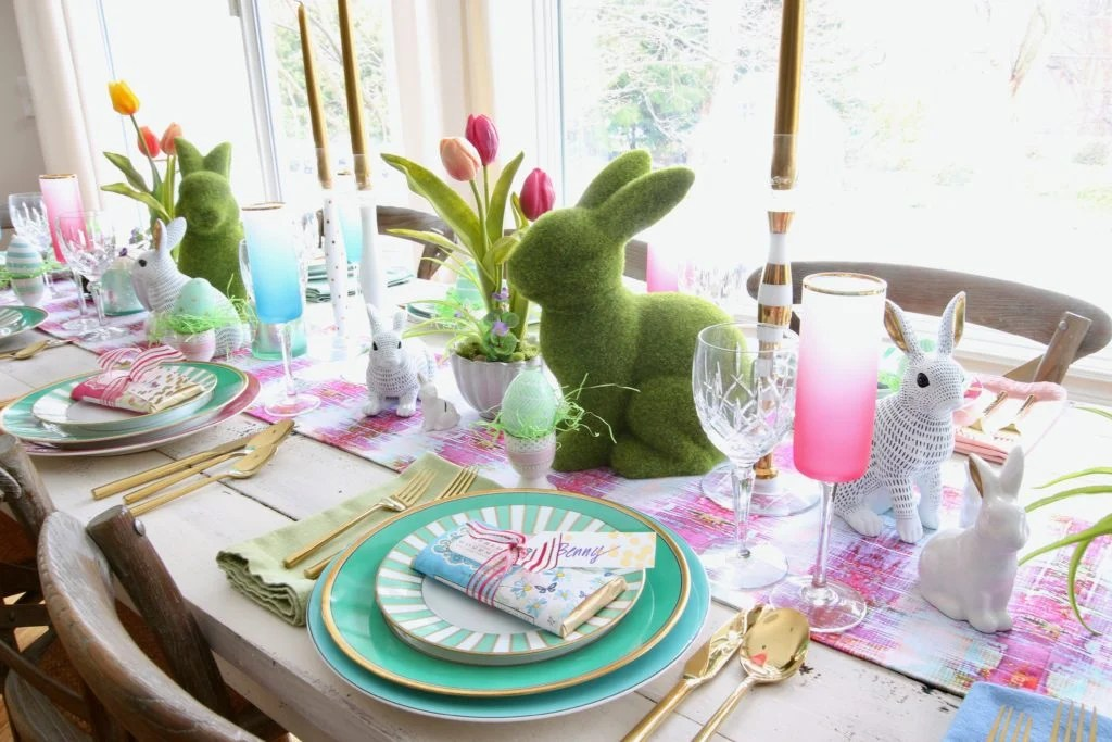 5 Simple Steps To Setting A Gorgeous Easter Table