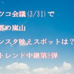 マツコ会議(3/31)で京都の嵐山のインスタ映えスポットは?JKトレンド中継第8弾