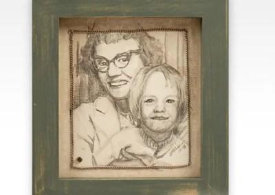 Pencil Portraits and Curios