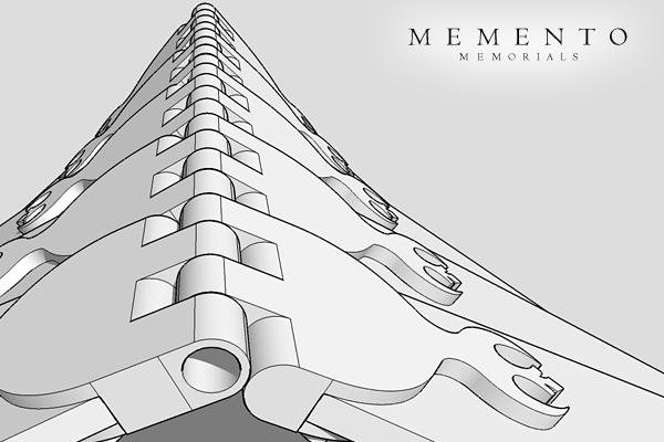 Eagle Memorial 3D Model