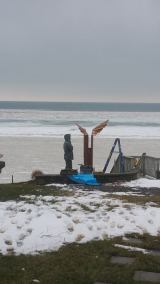 Ice Planet Hoth Memorial Sculpture