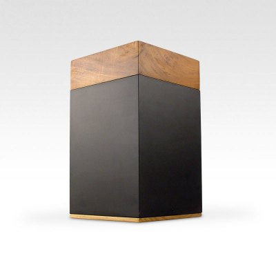Meta Poplar Wood Cremation Urn