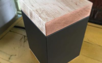 Hard Maple Meta Cremation Urn