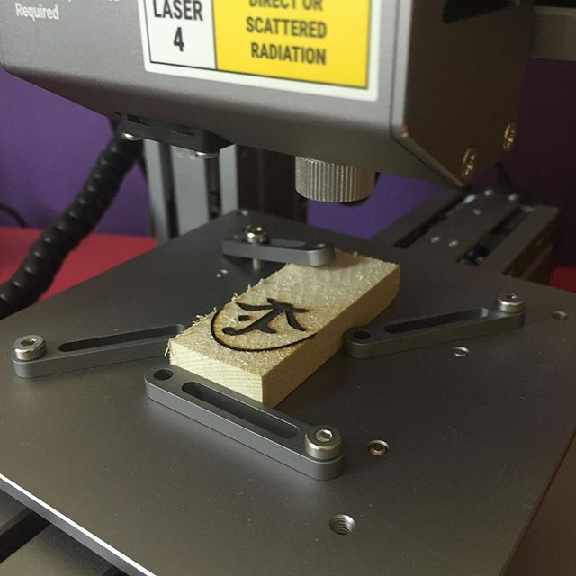 Laser Engraver Test Run