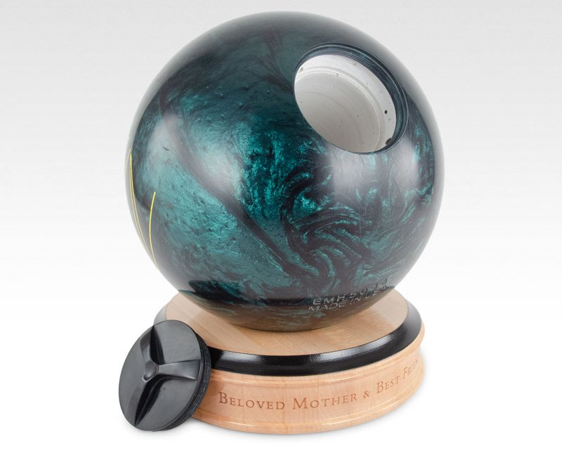 Bowling Ball Cremation Urn