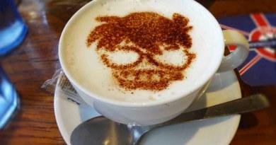 柯南劇場版二十週年限定咖啡實地探訪