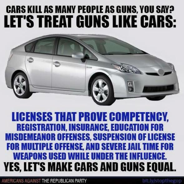 guns and cars