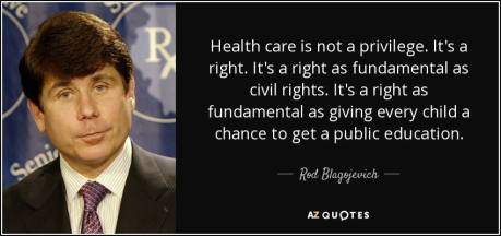 healthcare is not a right