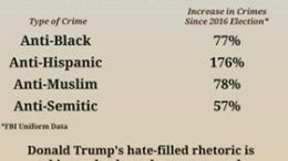 Hate crimes Trump meme