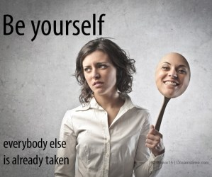 be yourself meme