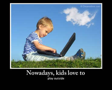 play outside kids