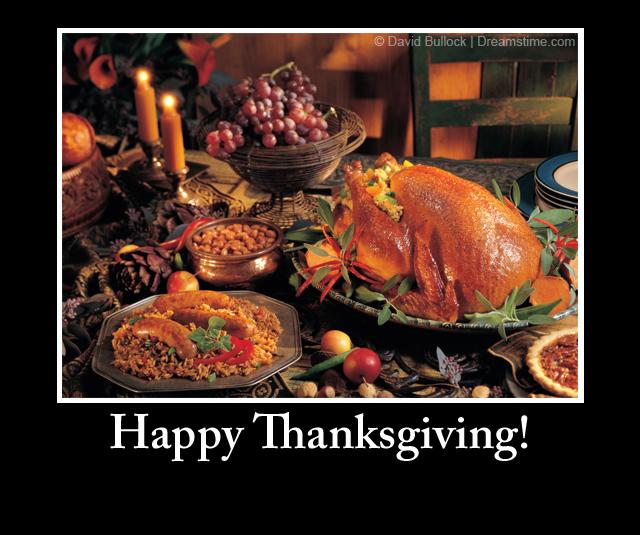 Happy Thanksgiving! - Meme Quotes
