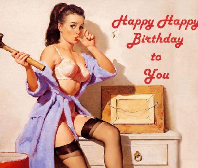 Sexy Happy Birthday Meme