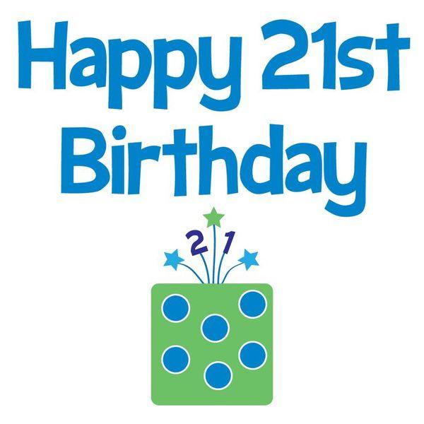 Birthday Graphics 21st Animated Happy